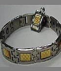 Scalar Stainless Titanium Bracelet Pendant - Men's
