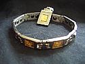 Quan Yin Scalar Stainless and Titanium Bracelet and Pendant
