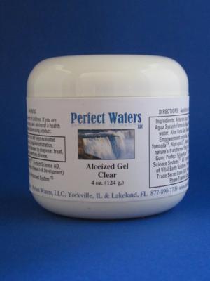 Perfect Waters Aloeized Gel - 4 oz.